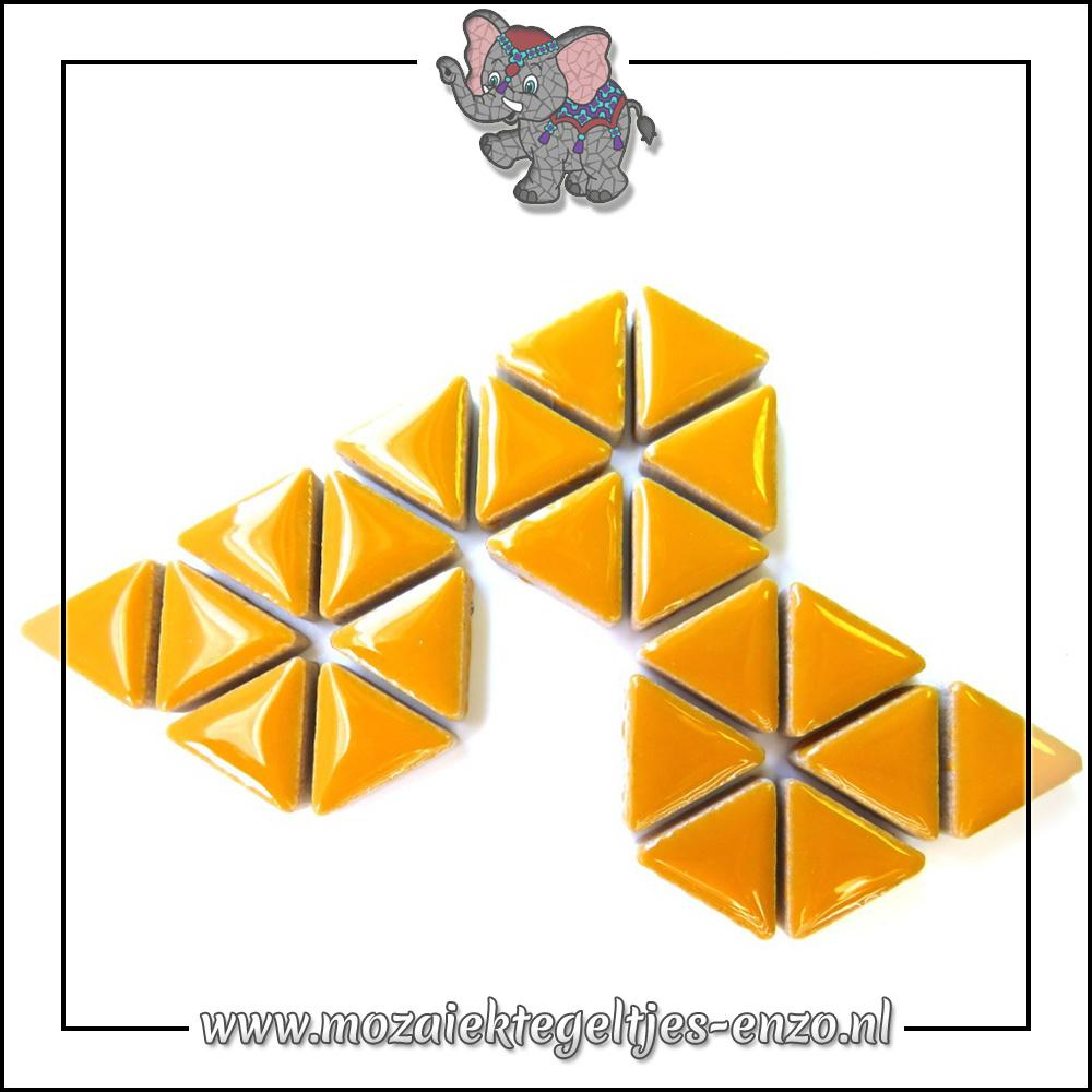 Keramiek Triangles Normaal | 15mm | Enkele Kleuren | 50 gram |Curry
