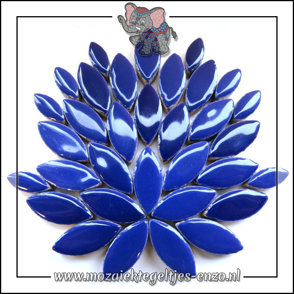 Keramiek Petals Normaal | 14-21mm | Enkele Kleuren | 50 gram |Indigo