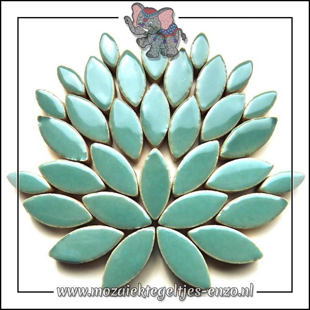 Keramiek Petals Normaal   14-21mm   Enkele Kleuren   50 gram  Phthalo Green