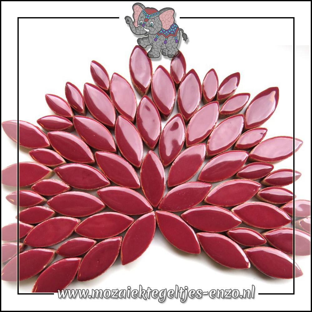Keramiek Petals Normaal   14-21mm   Enkele Kleuren   50 gram  Merlot