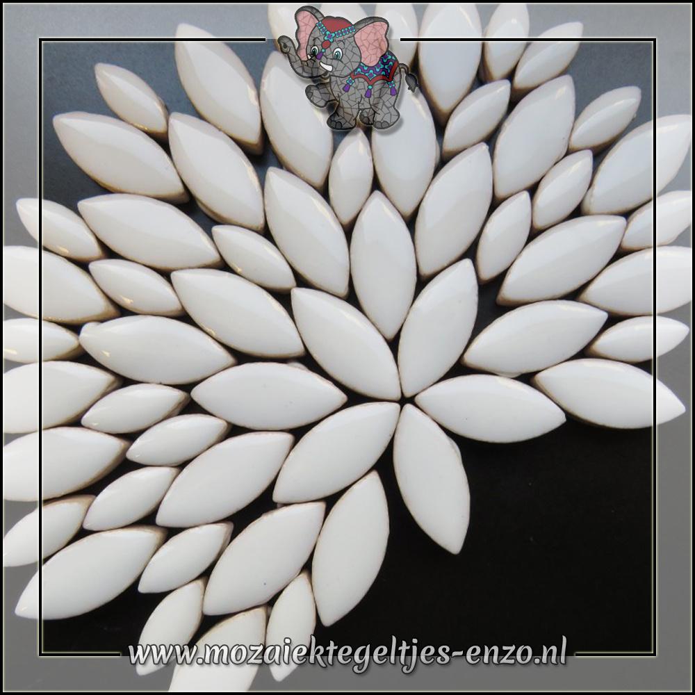 Keramiek Petals Normaal | 14-21mm | Enkele Kleuren | 50 gram |White