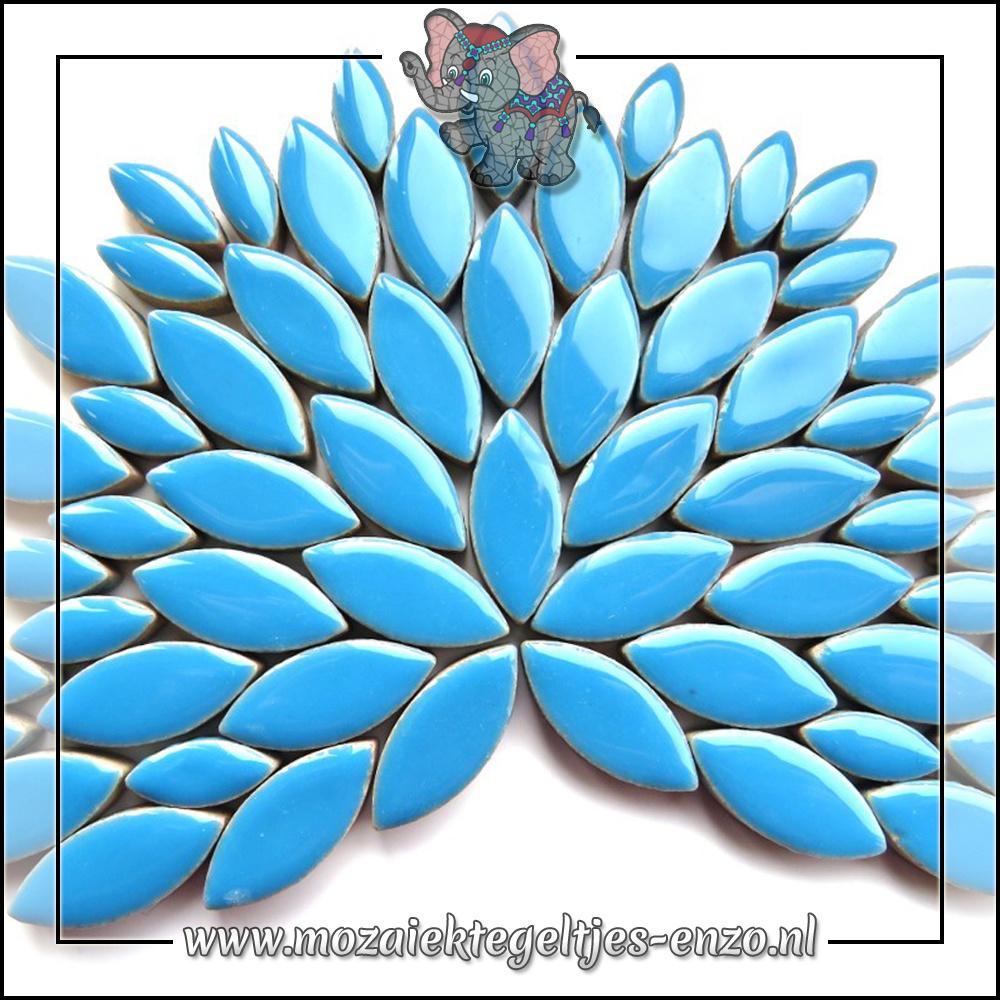 Keramiek Petals Normaal | 14-21mm | Enkele Kleuren | 50 gram |Thalo Blue