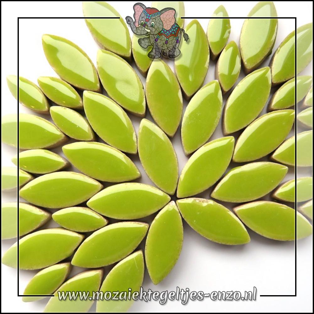 Keramiek Petals Normaal | 14-21mm | Enkele Kleuren | 50 gram |Kiwi