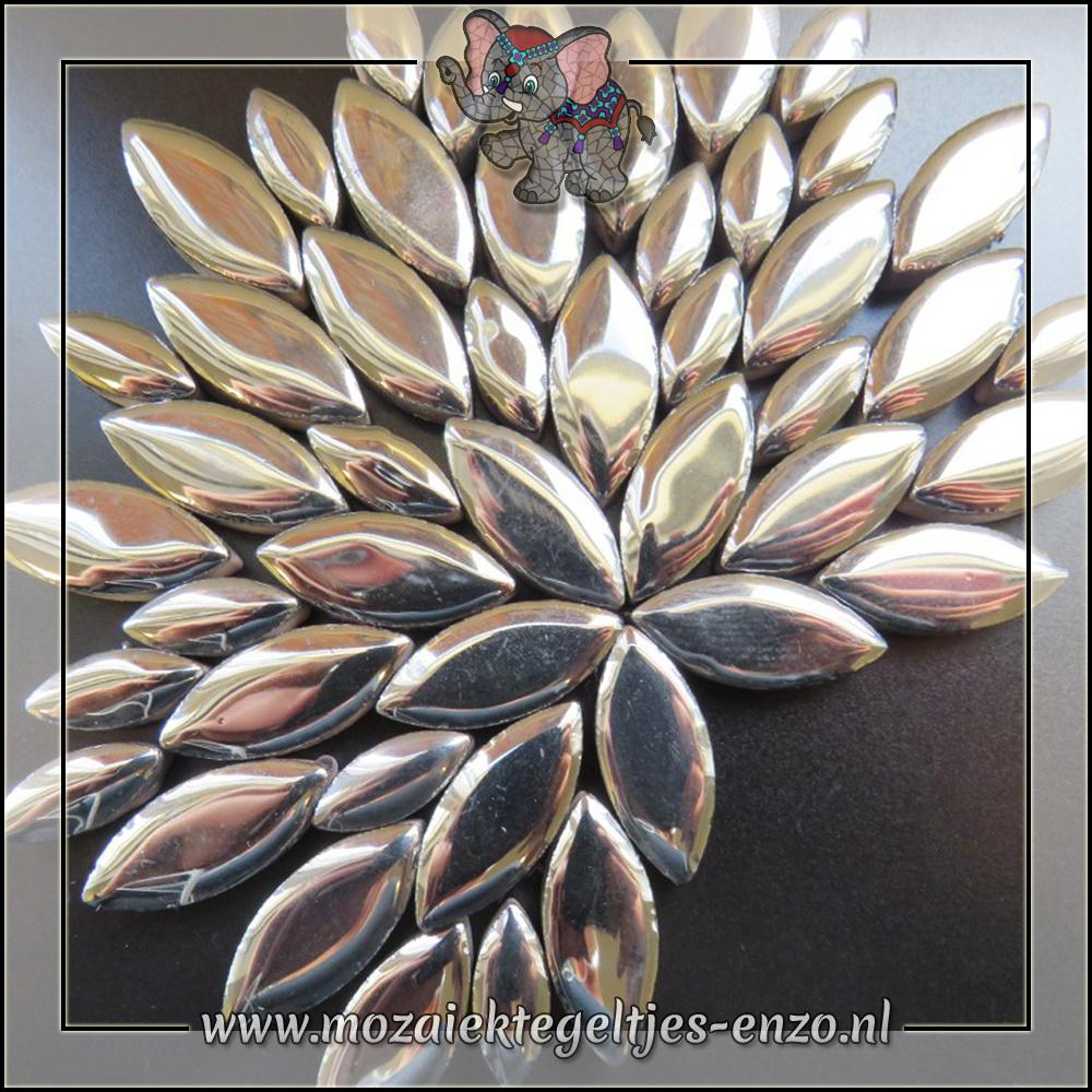 Keramiek Petals Normaal | 14-21mm | Enkele Kleuren | 50 gram |Silver