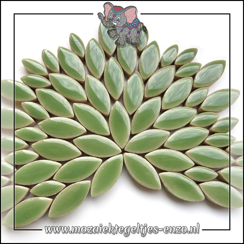 Keramiek Petals Normaal   14-21mm   Enkele Kleuren   50 gram  Jade