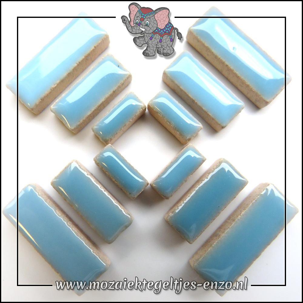 Keramiek Rectangles Normaal | 4-6-10mm | Enkele Kleuren | 50 gram |Azure