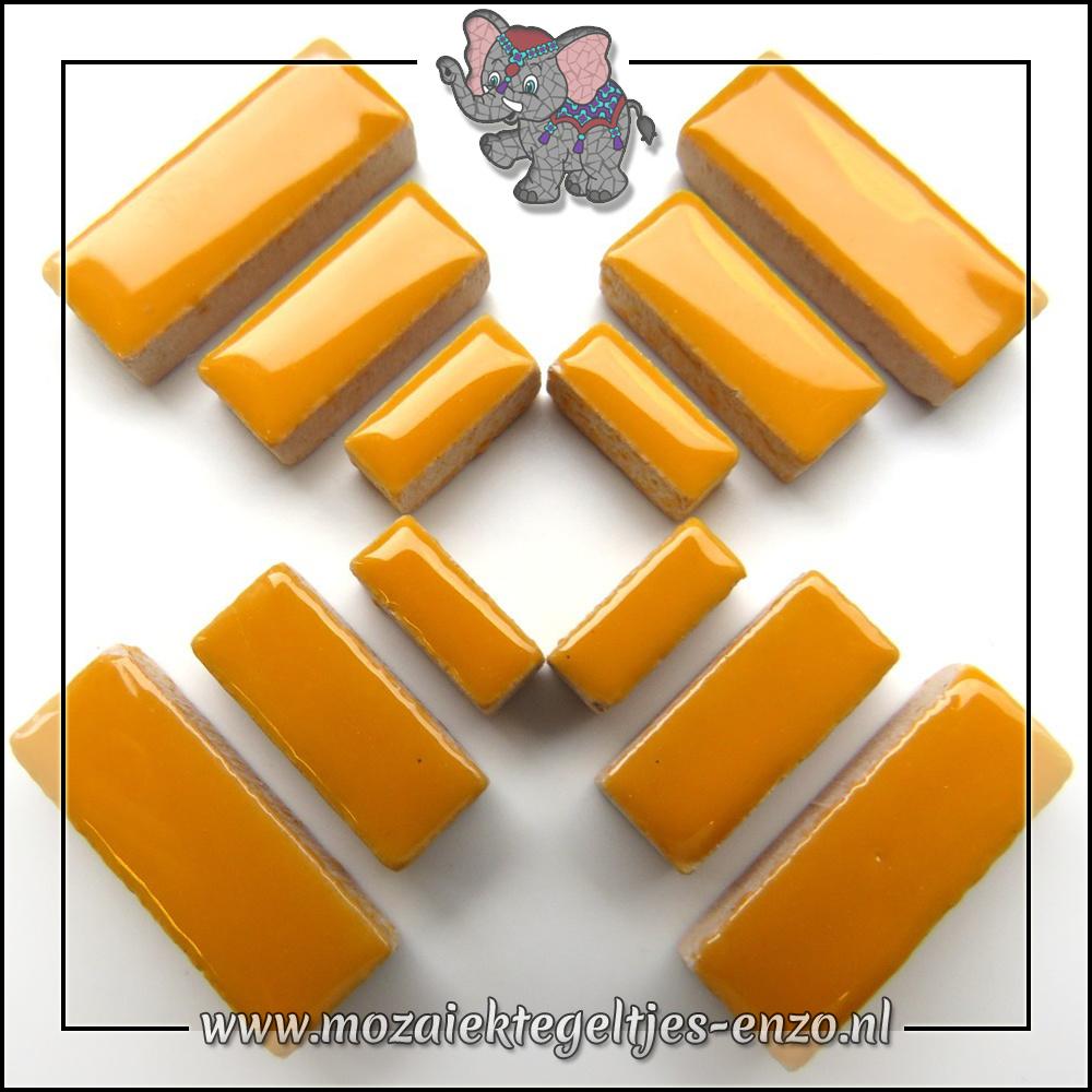 Keramiek Rectangles Normaal   4-6-10mm   Enkele Kleuren   50 gram  Curry
