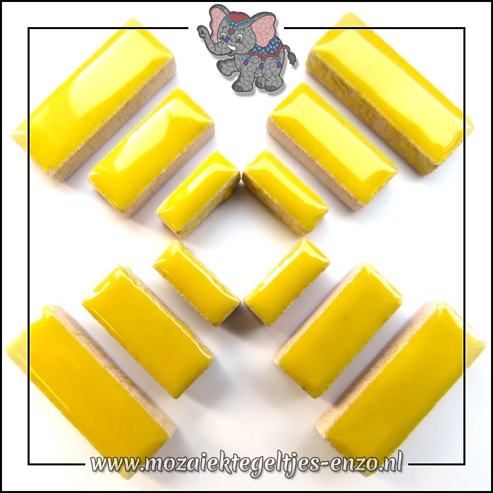 Keramiek Rectangles Normaal | 4-6-10mm | Enkele Kleuren | 50 gram |Citrus Yellow