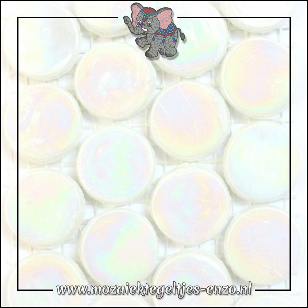 Radiant Round Parelmoer | 18mm | Enkele Kleuren | 1 stuks |Siberia