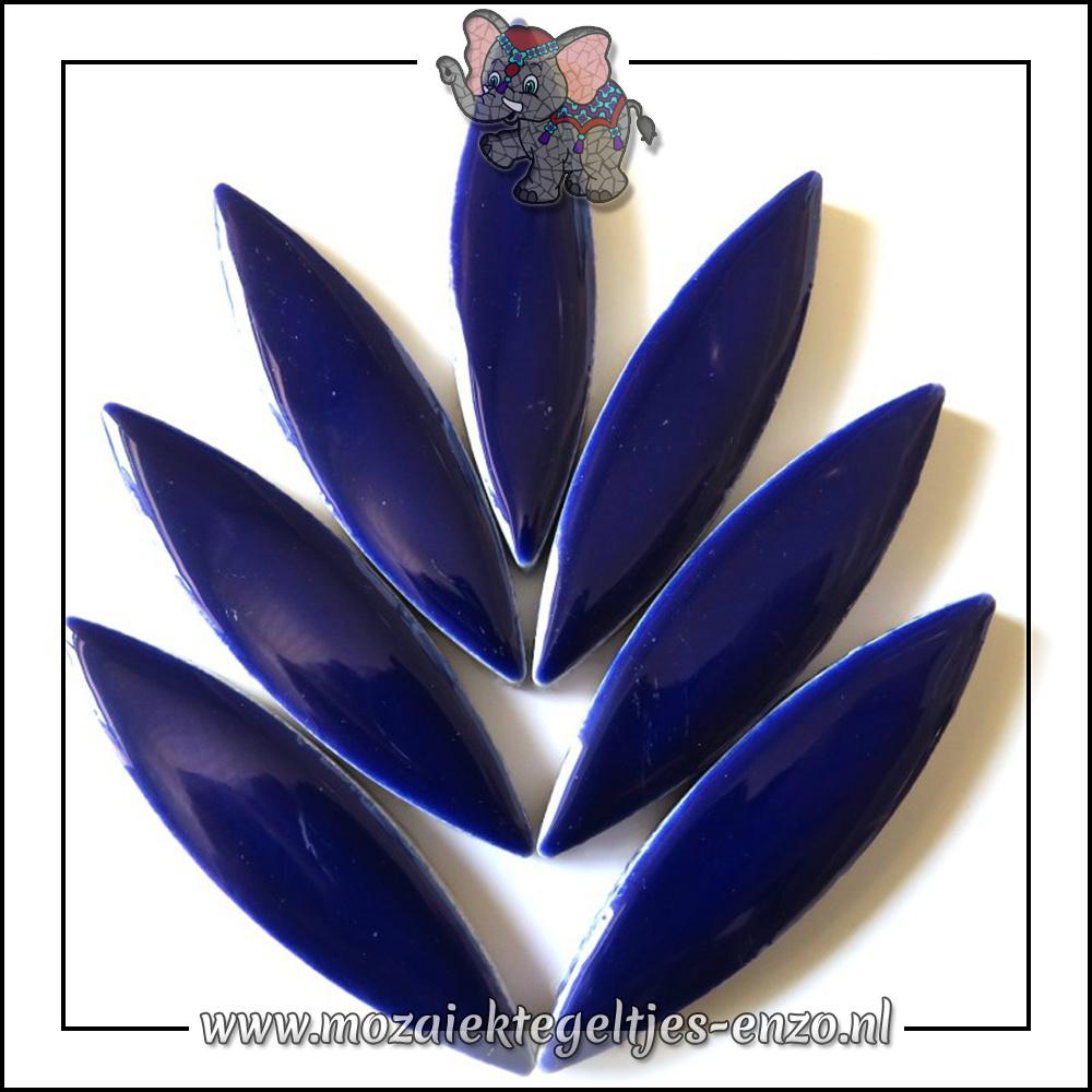 Keramiek Petals XL Normaal | 60mm | Enkele Kleuren | 1 stuks |Indigo
