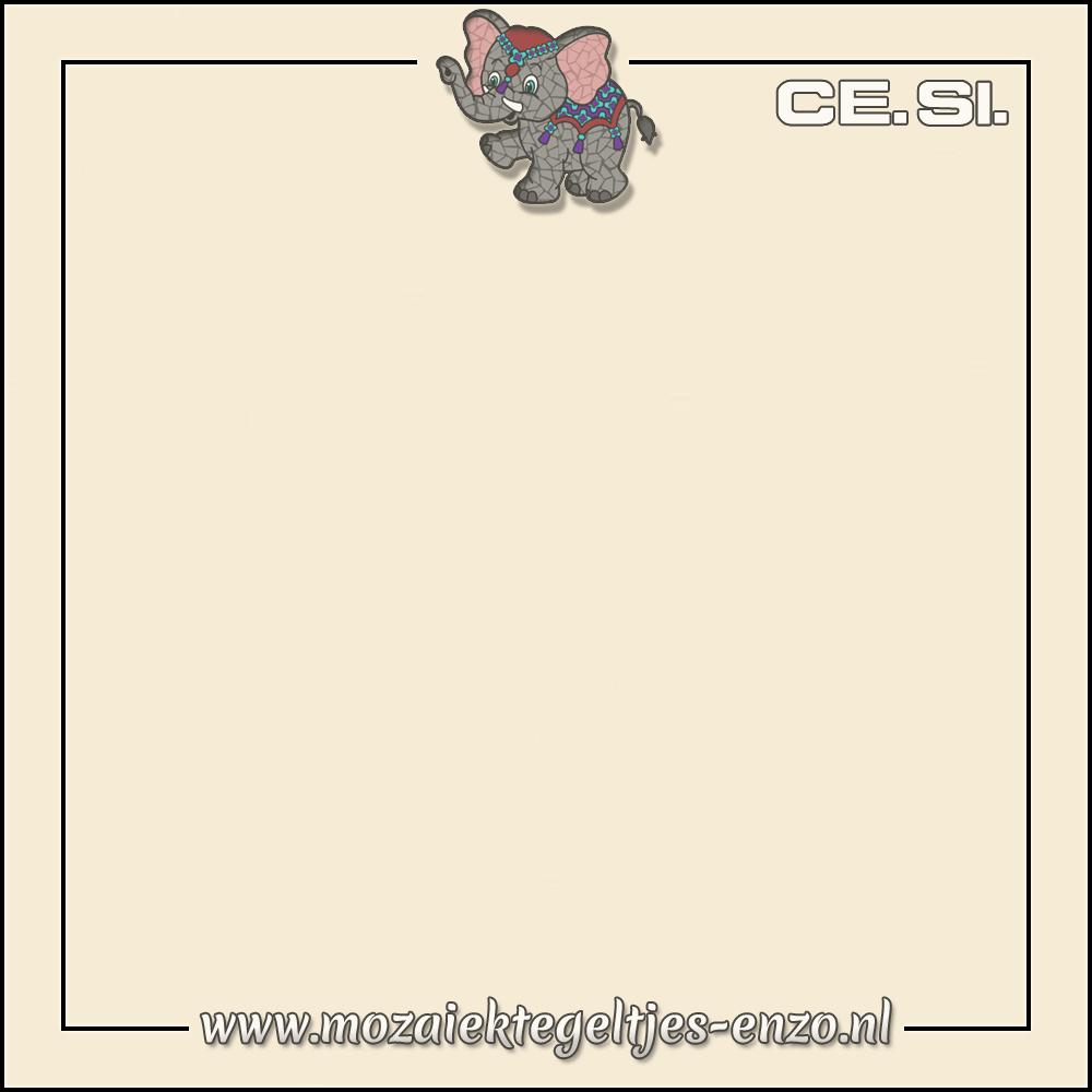 Cesi Mat Glanzend | 20cm | Op bestelling | 1 stuks |Vanilla
