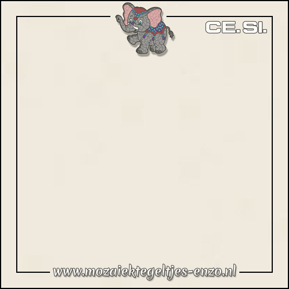 Cesi Mat Glanzend | 20cm | Op bestelling | 1 stuks |Cotone