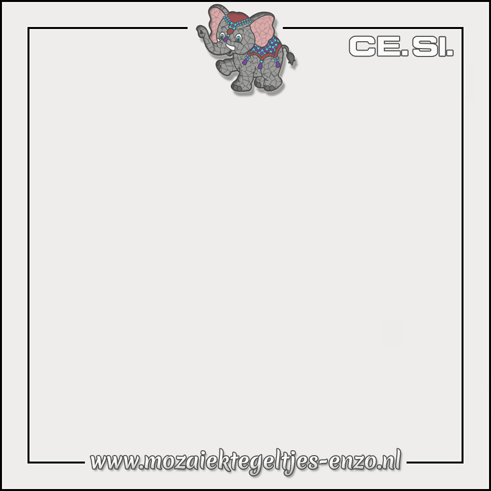 Cesi Mat Glanzend | 20cm | Op bestelling | 1 stuks |Bianco