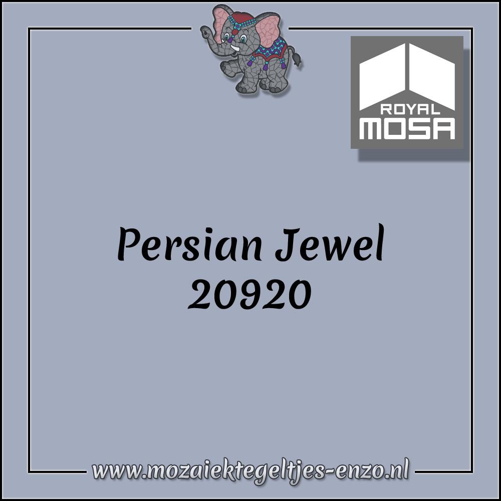 Royal Mosa Tegel Glanzend   7,5x15cm   Op maat gesneden   1 stuks  Persian Jewel 20920