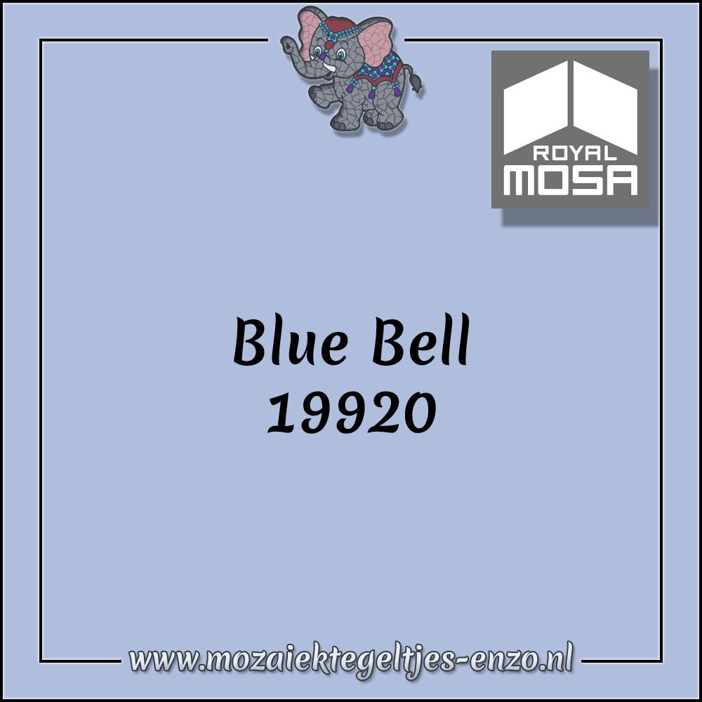 Royal Mosa Tegel Glanzend   7,5x15cm   Op maat gesneden   1 stuks  Blue Bell 19920