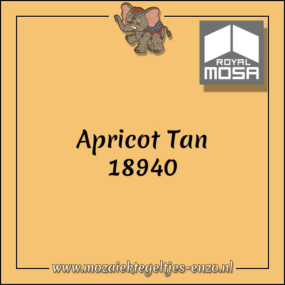 Royal Mosa Tegel Glanzend | 7,5x15cm | Op maat gesneden | 1 stuks |Apricot Tan 18940