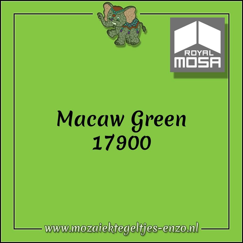 Royal Mosa Tegel Glanzend | 7,5x15cm | Op maat gesneden | 1 stuks |Macaw Green 17900