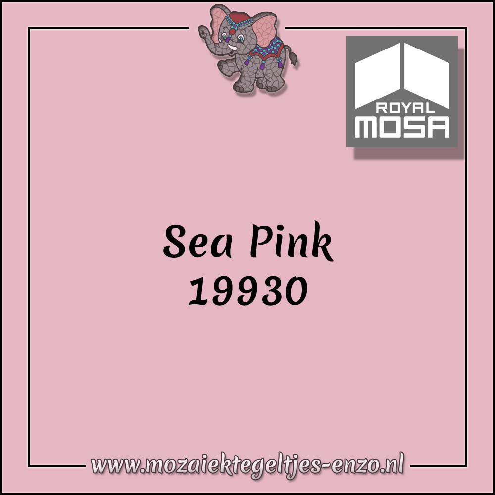 Royal Mosa Tegel Glanzend | 7,5x15cm | Op maat gesneden | 1 stuks |Sea Pink 19930