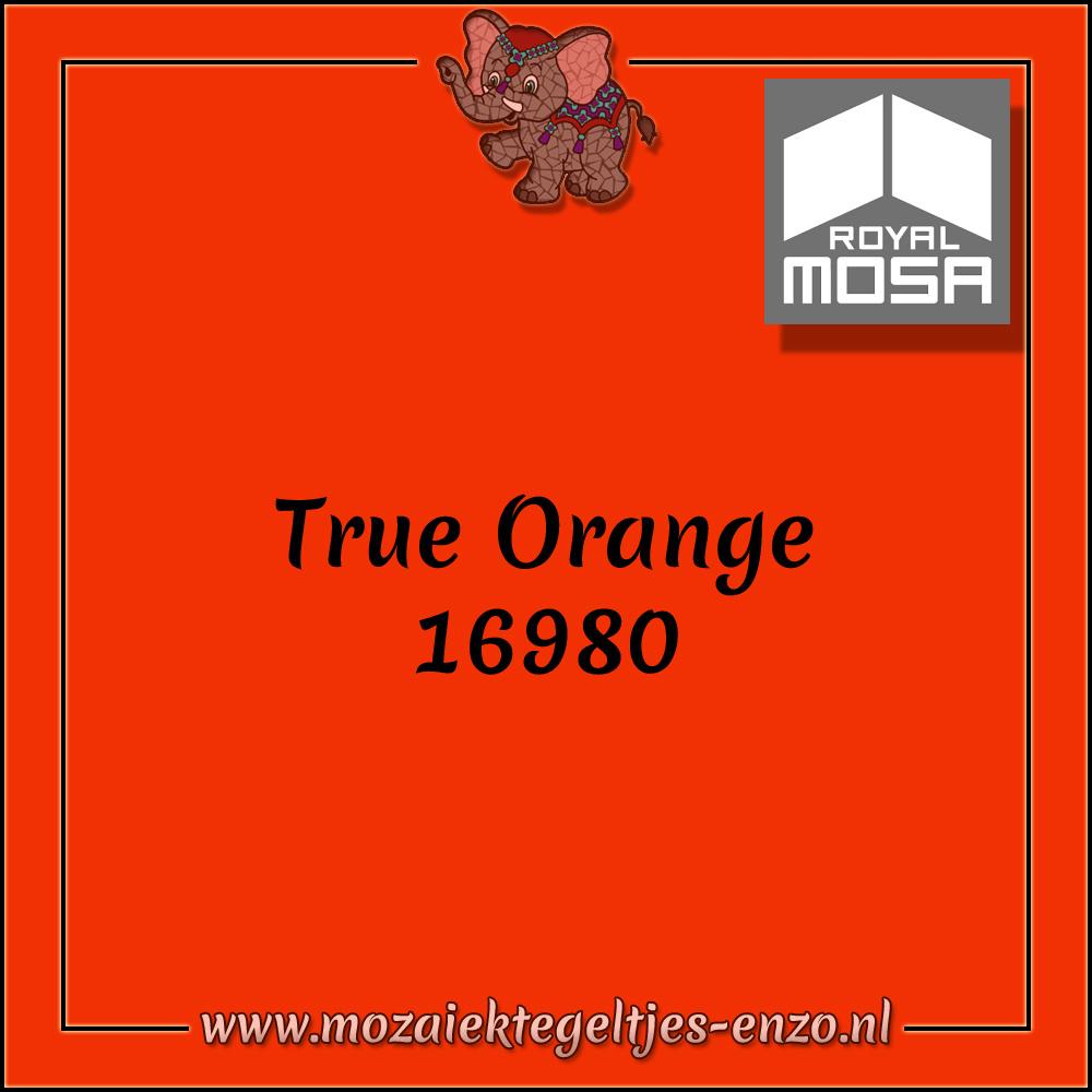 Royal Mosa Tegel Glanzend | 7,5x15cm | Op maat gesneden | 1 stuks |True Orange 16980
