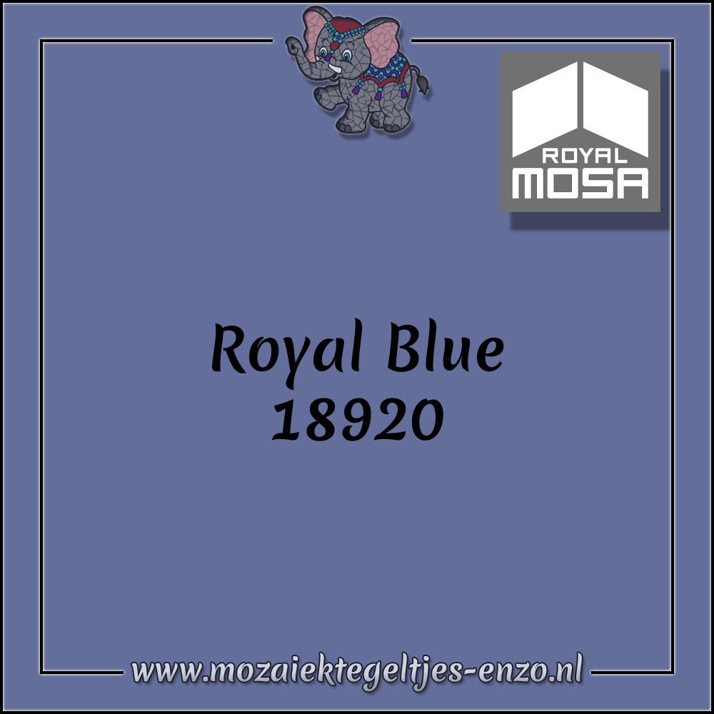 Royal Mosa Tegel Glanzend | 15cm | Op voorraad | 1 stuks | Royal Blue 18920