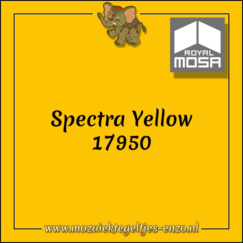 Royal Mosa Tegel Glanzend | 15cm | Op voorraad | 1 stuks | Spectra Yellow 17950
