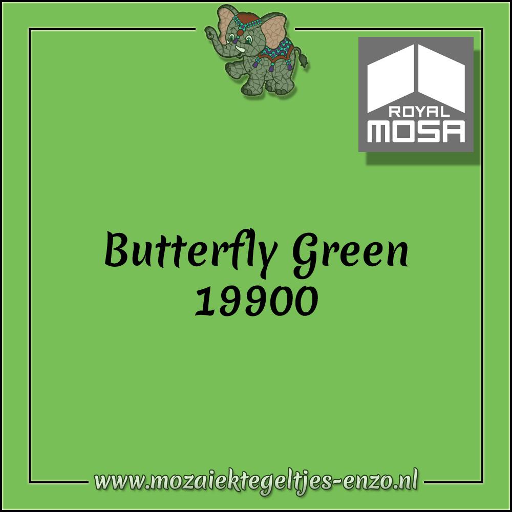 Royal Mosa Tegel Glanzend | 15cm | Op voorraad | 1 stuks | Butterfly Green 19900