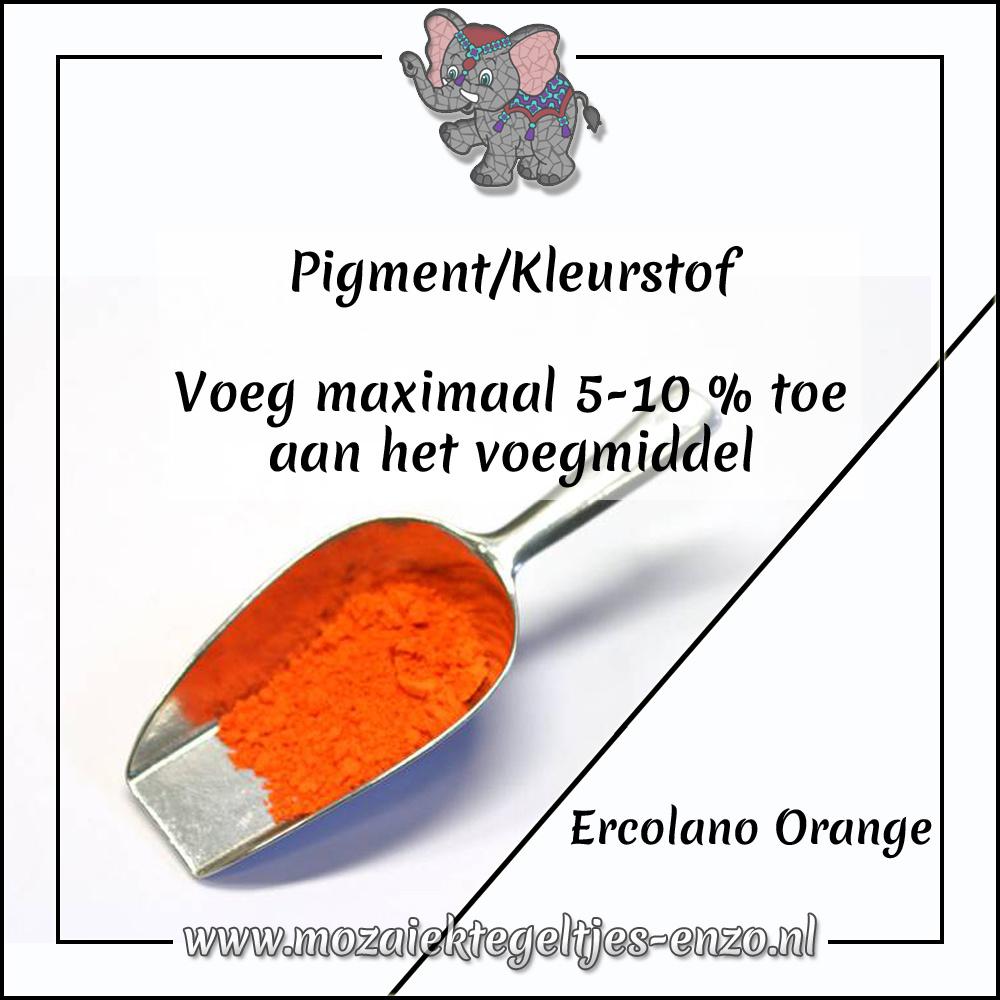 Pigment | Kleurstof voor voegmiddel | 20 gram |Ercolano Orange
