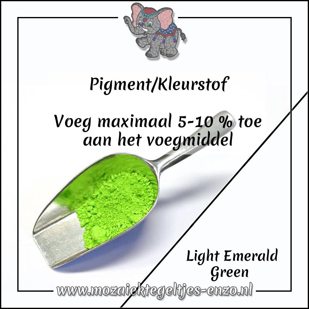 Pigment   Kleurstof voor voegmiddel   20 gram  Light Emerald Green