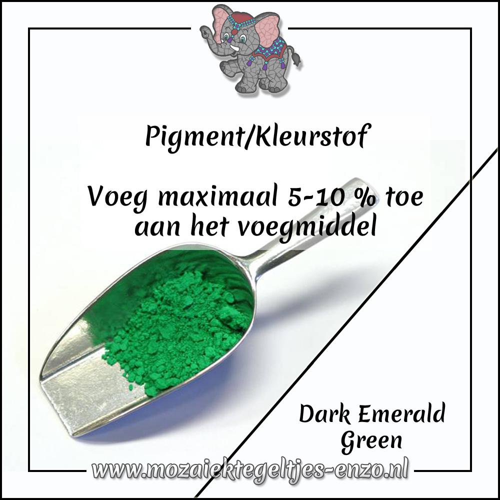 Pigment | Kleurstof voor voegmiddel | 20 gram |Dark Emerald Green
