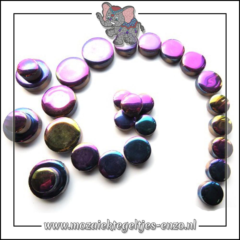 Keramiek Discs Normaal | 12-15-20 mm | Enkele Kleuren | 50 gram |Disco Lights