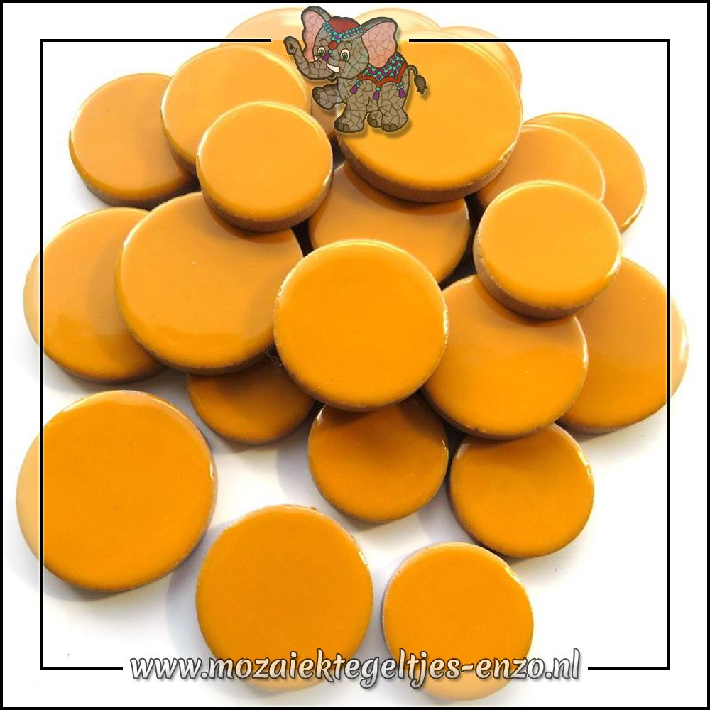 Keramiek Discs XL Normaal | 25-30-35 mm | Enkele Kleuren | 50 gram |Curry