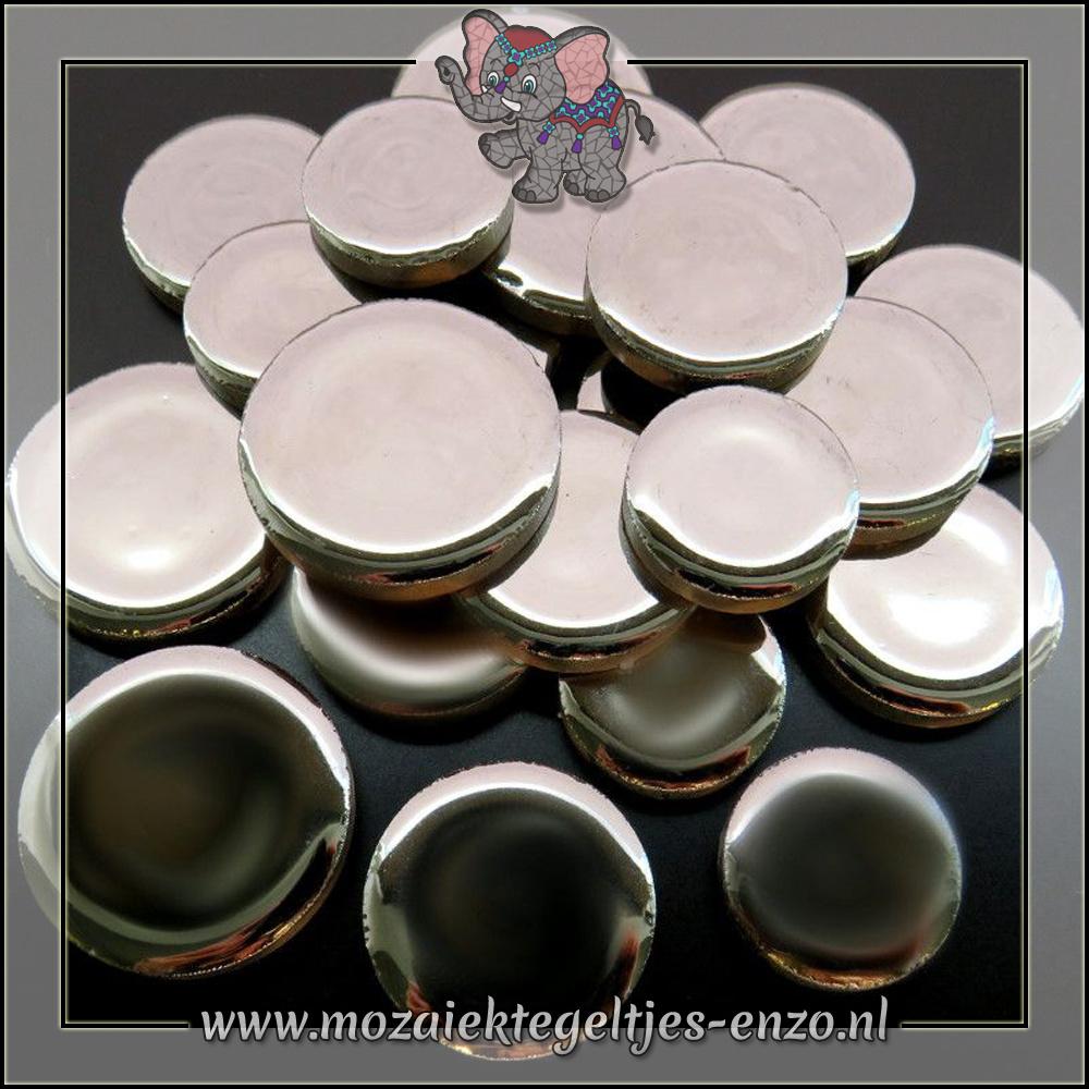 Keramiek Discs XL Normaal | 25-30-35 mm | Enkele Kleuren | 50 gram |Silver
