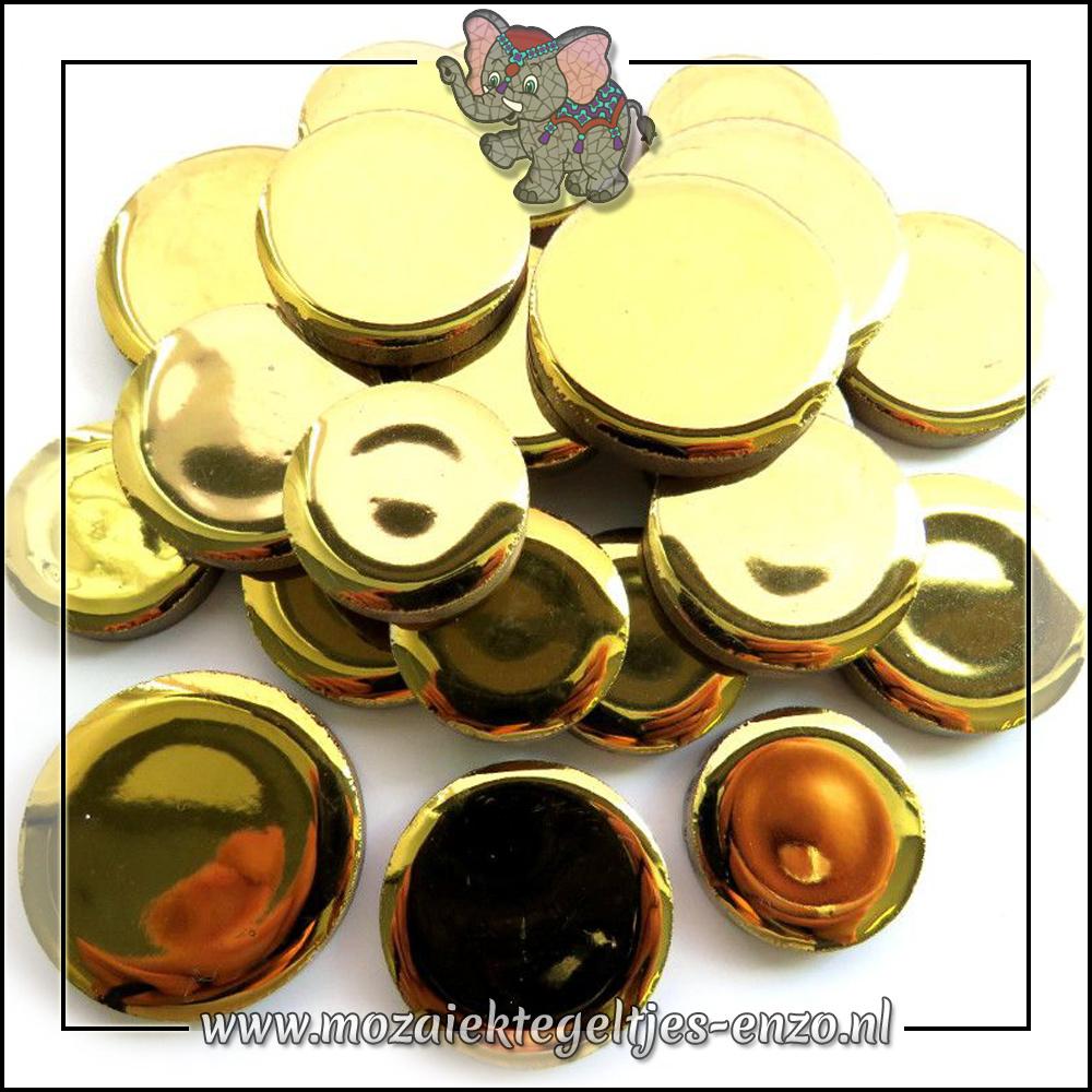 Keramiek Discs XL Normaal | 25-30-35 mm | Enkele Kleuren | 50 gram |Gold
