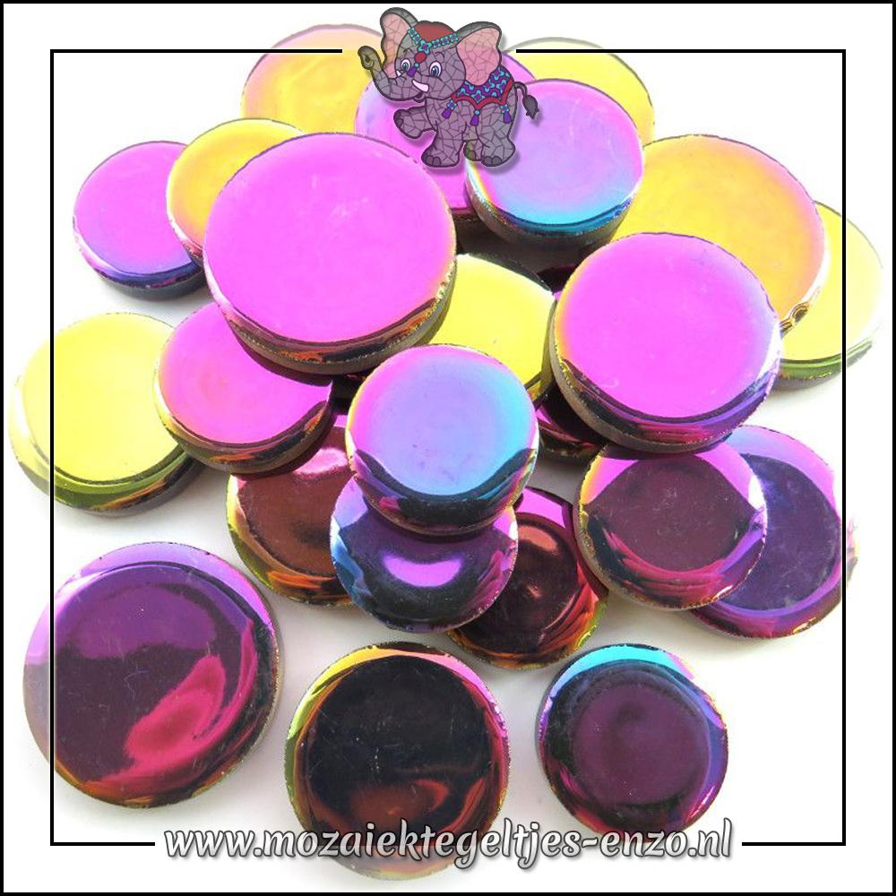 Keramiek Discs XL Normaal   25-30-35 mm   Enkele Kleuren   50 gram  Disco Lights