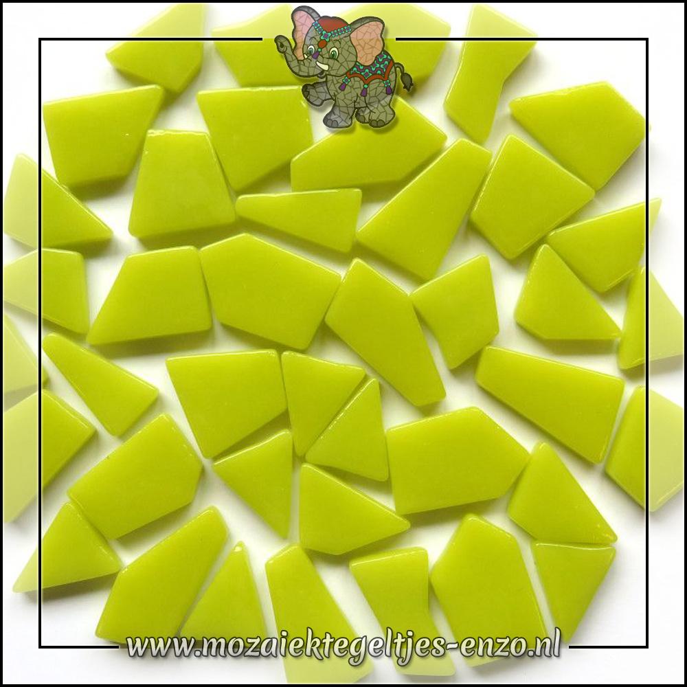 Snippets Puzzelstukjes Normaal | Enkele Kleuren | 50 gram |Yellow Green