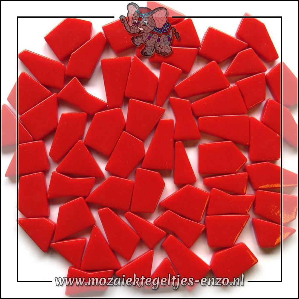 Snippets Puzzelstukjes Normaal | Enkele Kleuren | 50 gram |Bright Red