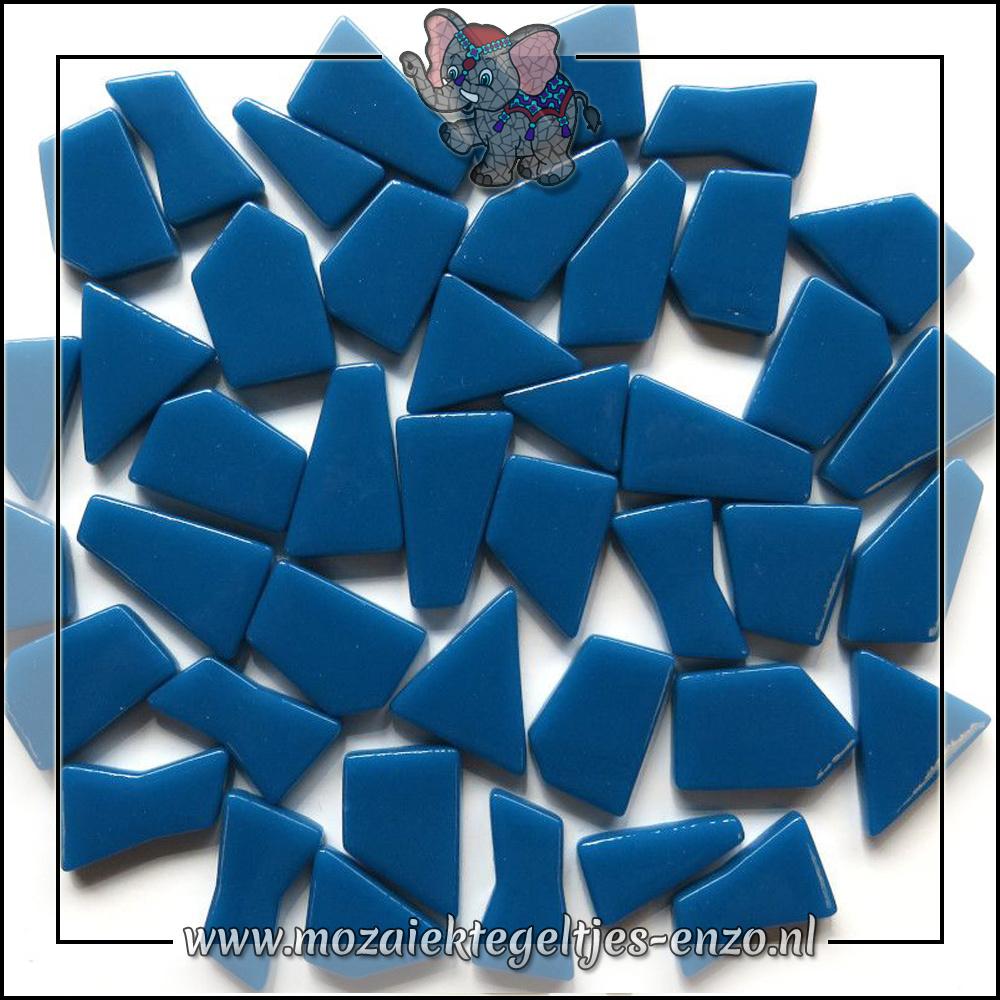 Snippets Puzzelstukjes Normaal | Enkele Kleuren | 50 gram |Deep Lake Blue