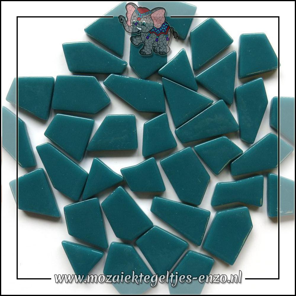Snippets Puzzelstukjes Normaal | Enkele Kleuren | 50 gram |Deep Teal
