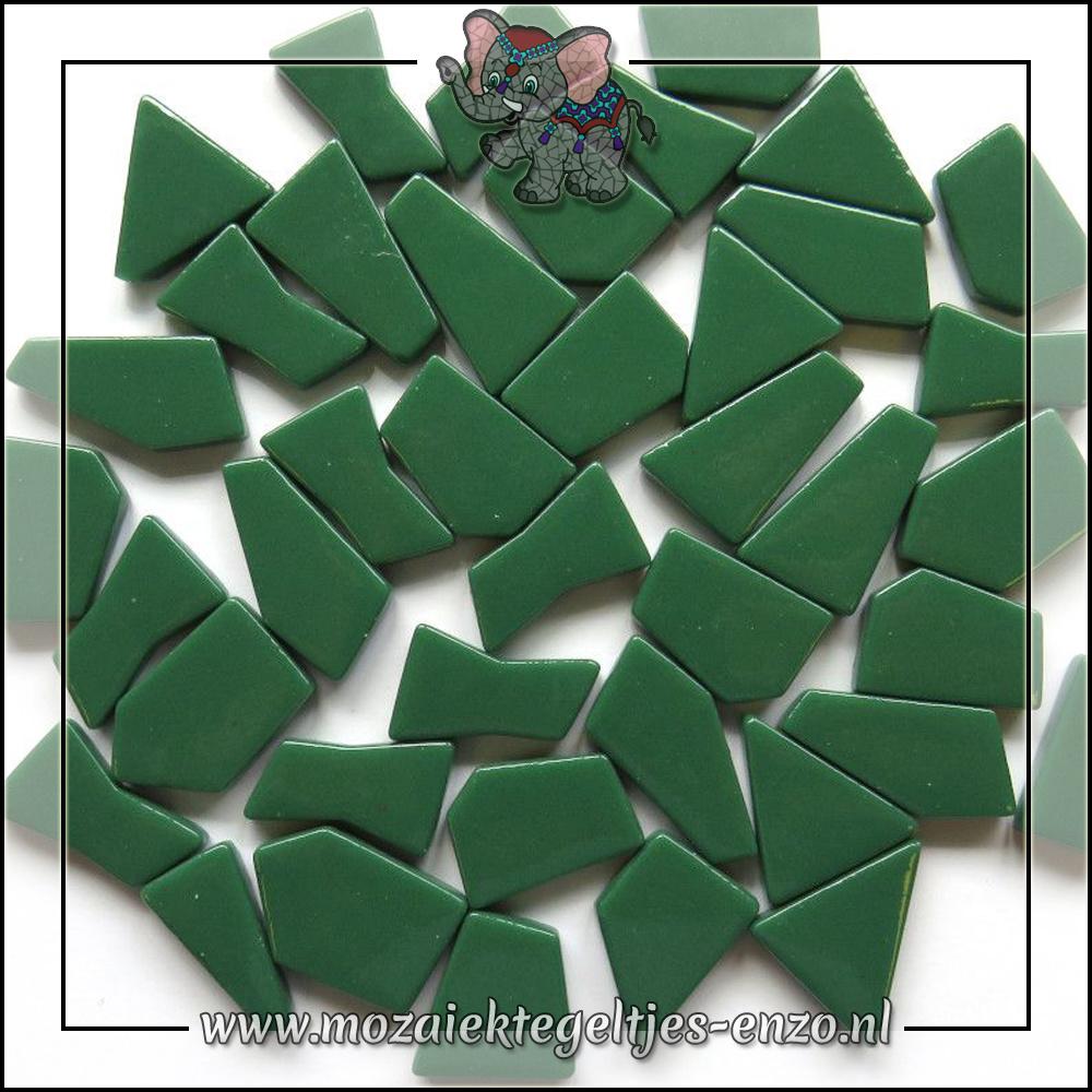 Snippets Puzzelstukjes Normaal   Enkele Kleuren   50 gram  Spruce Green