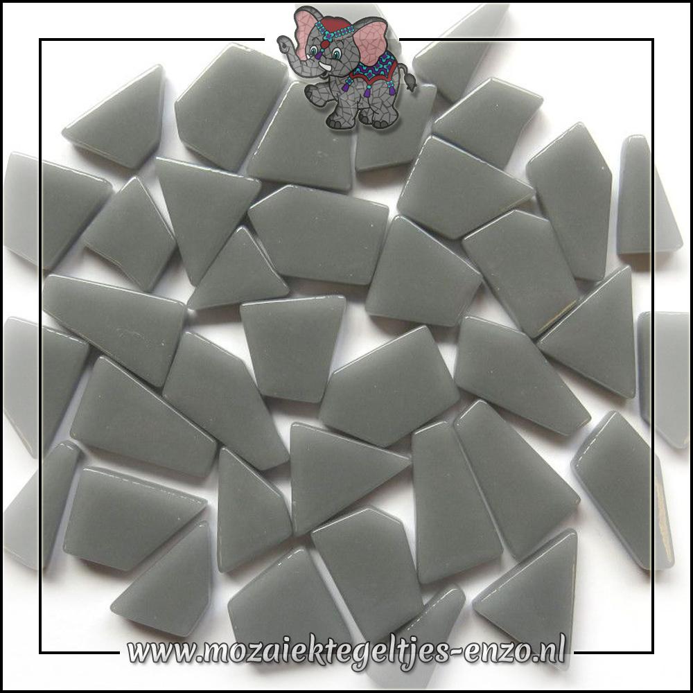 Snippets Puzzelstukjes Normaal   Enkele Kleuren   50 gram  Mid Grey