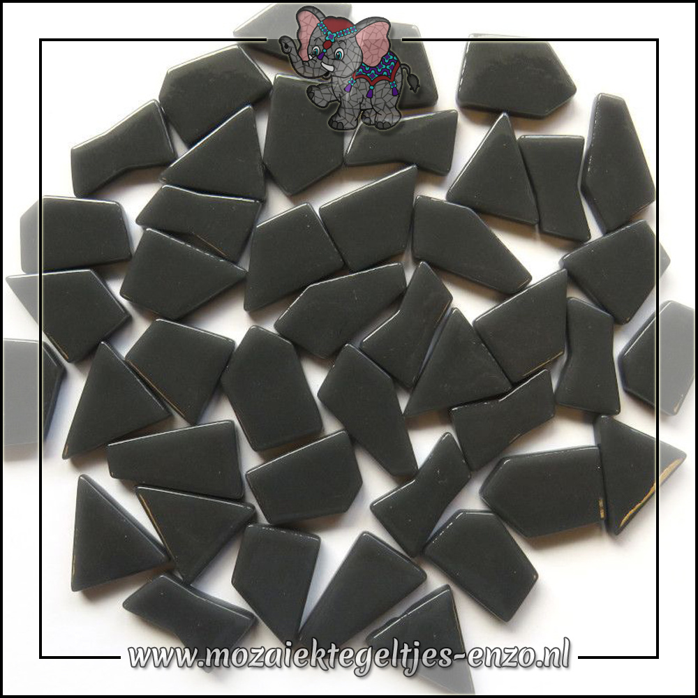 Snippets Puzzelstukjes Normaal | Enkele Kleuren | 50 gram |Charcoal