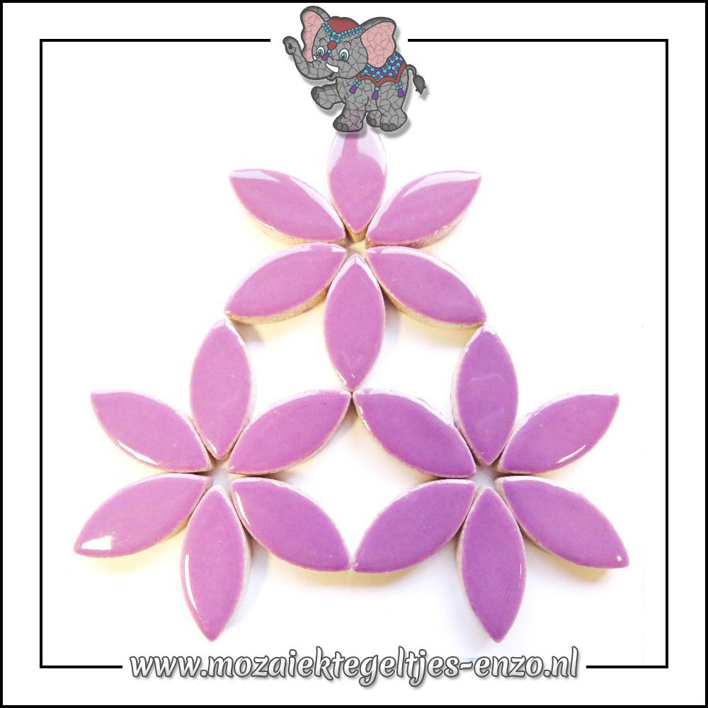 Keramiek Petals Normaal | 25mm | Enkele Kleuren | 50 gram |Fresh Lilac