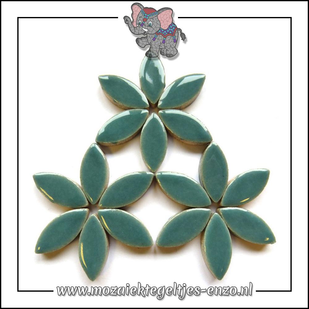 Keramiek Petals Normaal | 25mm | Enkele Kleuren | 50 gram |Phthalo Green