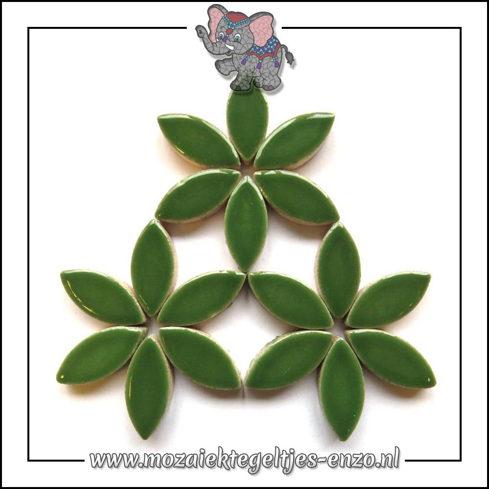 Keramiek Petals Normaal | 25mm | Enkele Kleuren | 50 gram |Eucalyptus