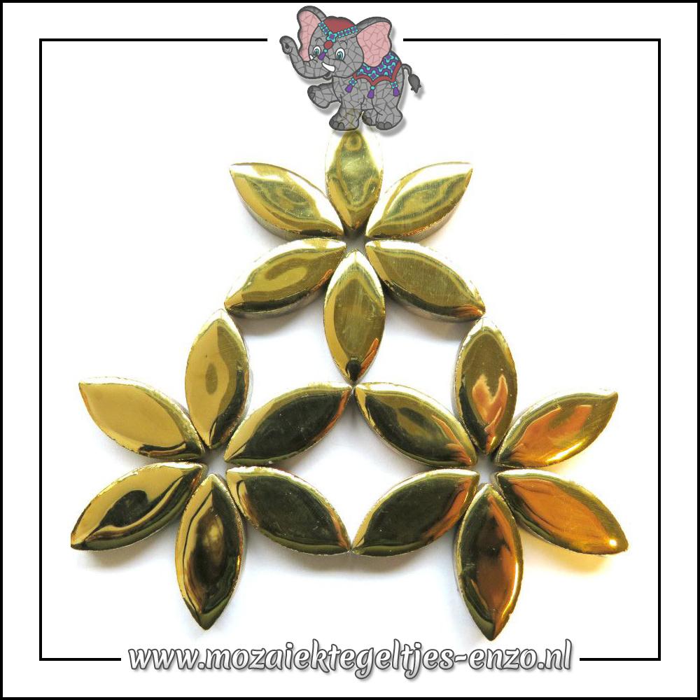 Keramiek Petals Normaal | 25mm | Enkele Kleuren | 50 gram |Gold