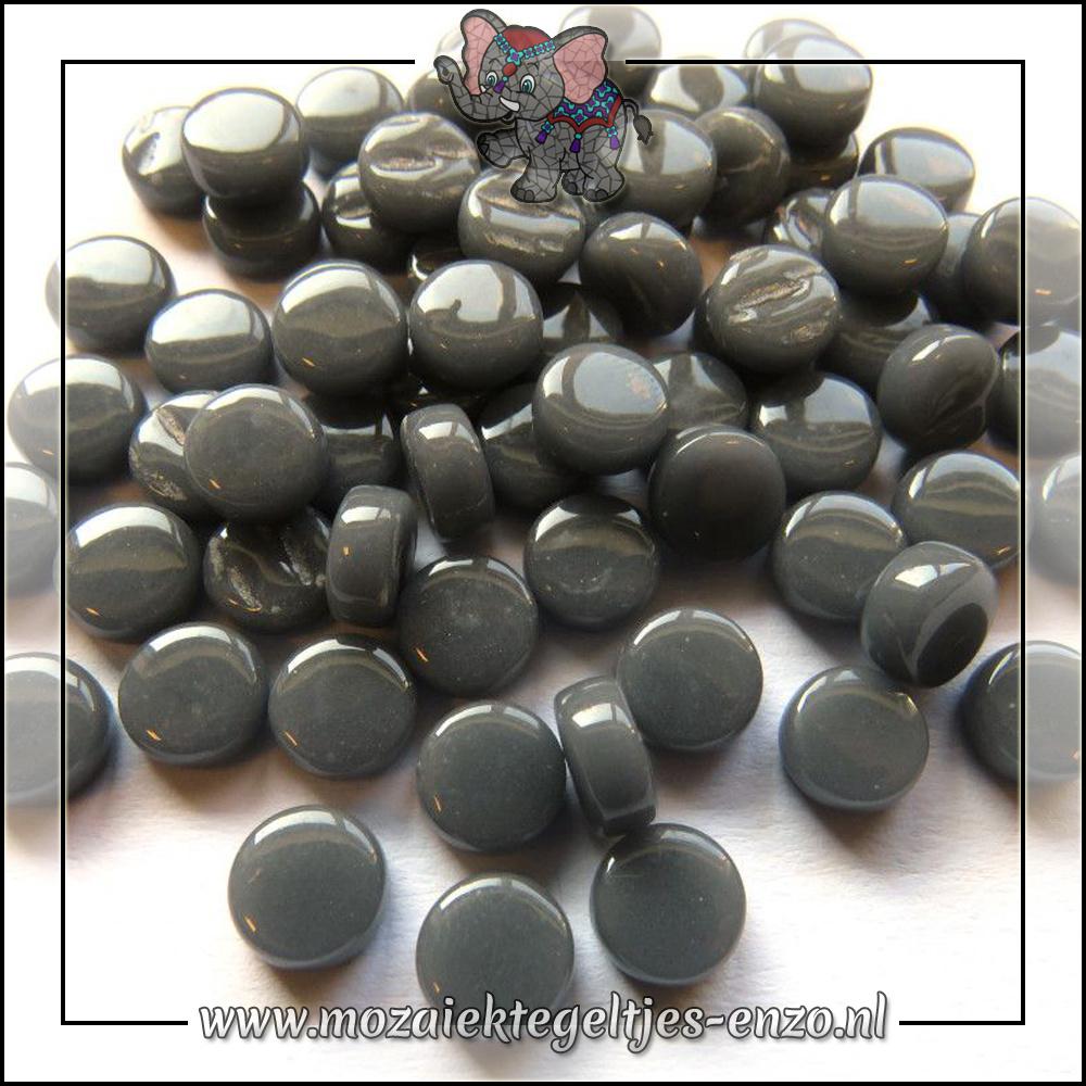 Glasdruppels Normaal | 8mm | Enkele Kleuren | 50 gram | Charcoal