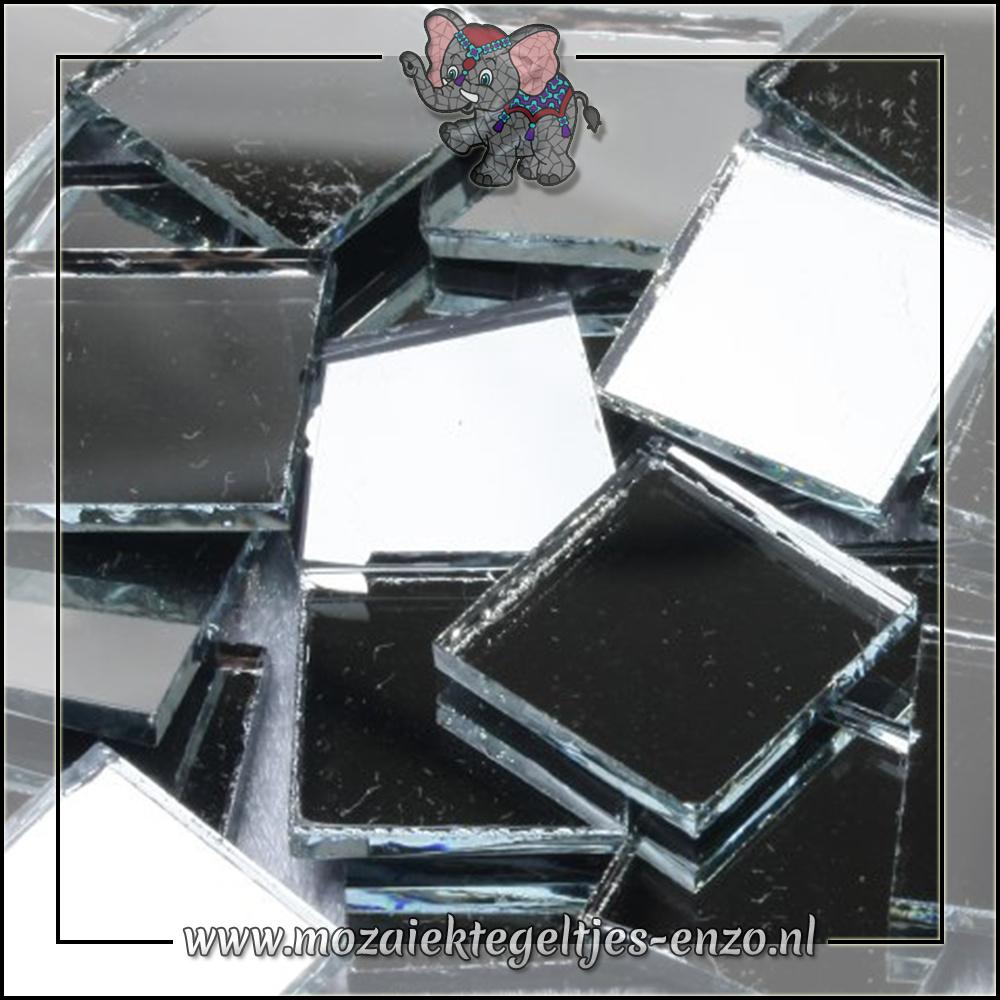 Spiegel mozaiek | 1,5cm | Enkele Kleuren | 50 gram |Vierkant groot