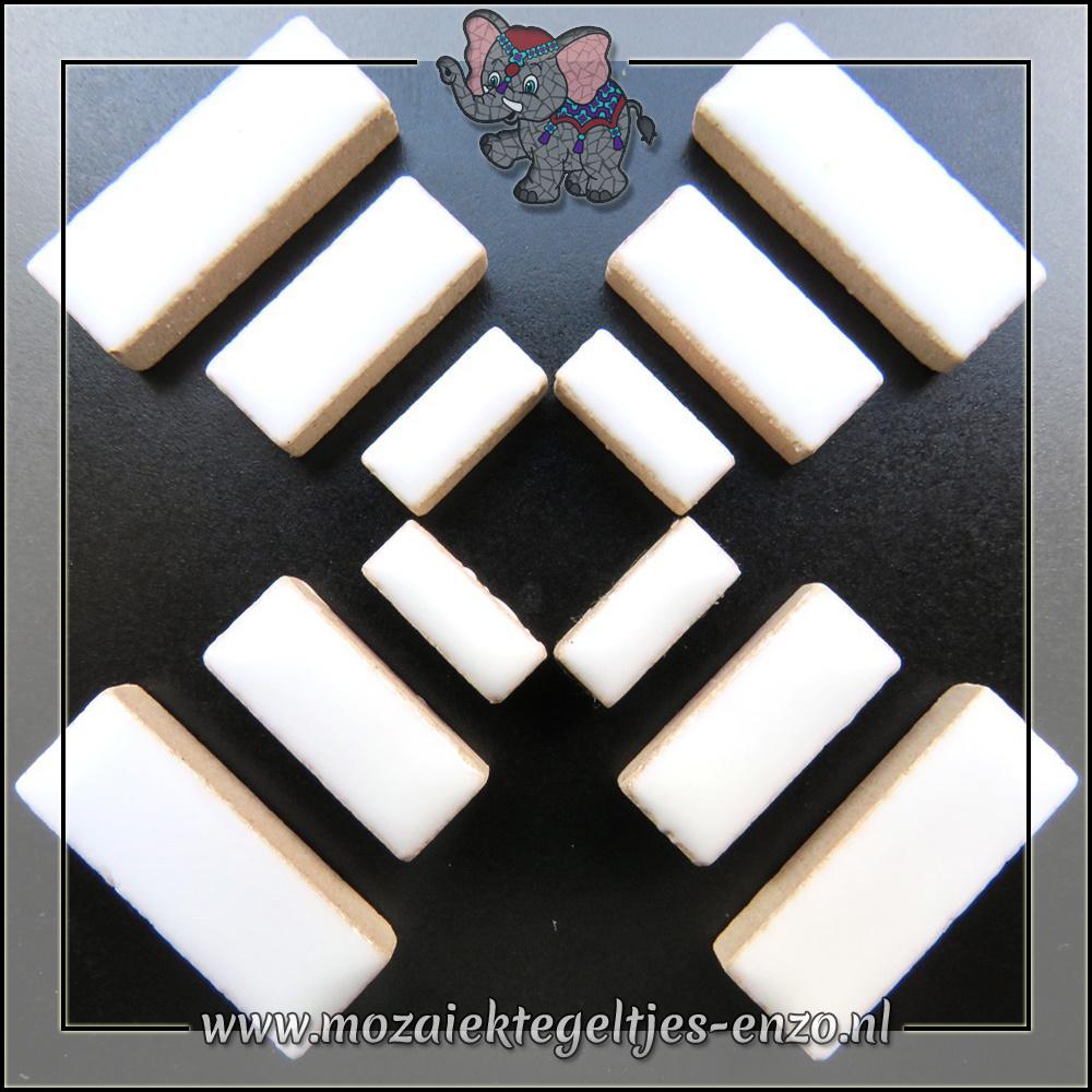 Keramiek Rectangles Normaal | 4-6-10mm | Enkele Kleuren | 50 gram |White