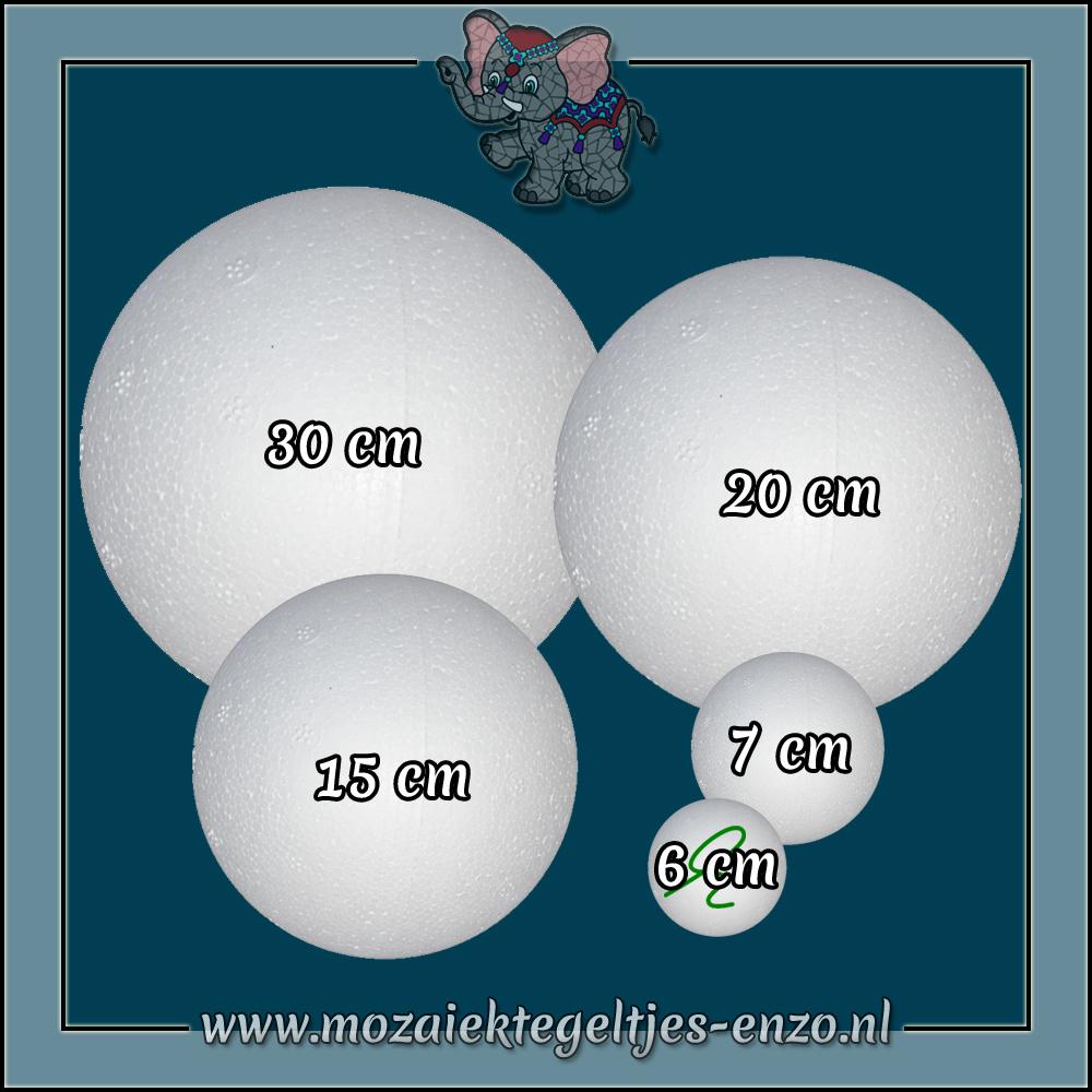 Knutselmateriaal Styropor | 6 cm | Piepschuim Vormen | Bal