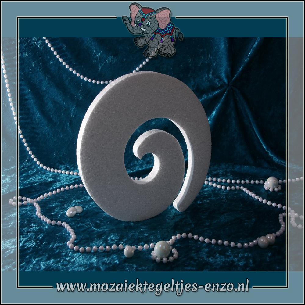 Knutselmateriaal Styropor | Piepschuim vormen | Swirl